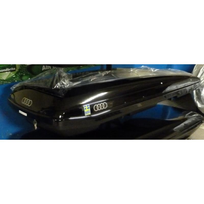 "Takbox Packline F Elegance Svart högblank - 420 L ""Audi Edition"""