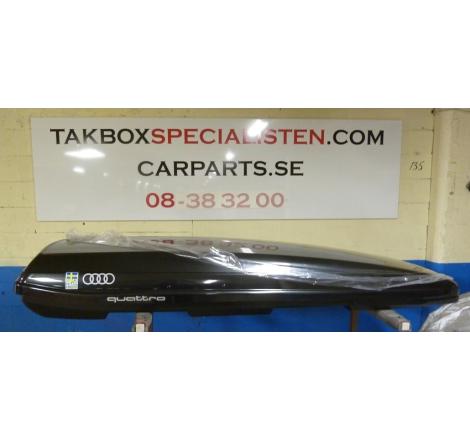 "Takbox Packline F Elegance Karbon - 420 L Ski Team Sweden ""Audi Quattro Edition"""