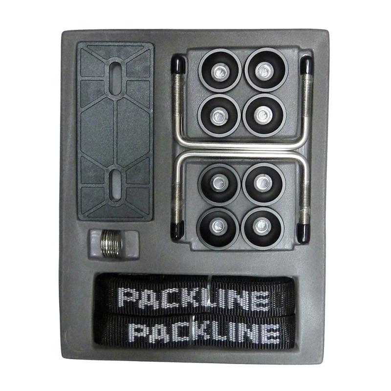 Monteringssats Packline 100 mm rostfritt