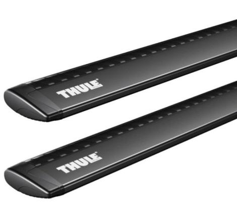Rörsats Thule Rapid WingBar Black - 118 cm