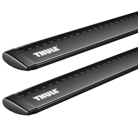 Rörsats Thule Rapid WingBar Black - 127 cm