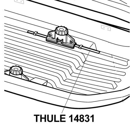 Tätningslist Thule Pacific, Touring m.fl