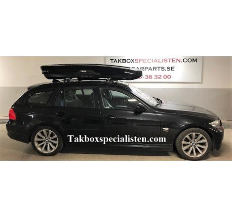 Takbox Thule Motion XT Alpine Blanksvart på BMW 3 Serie Touring