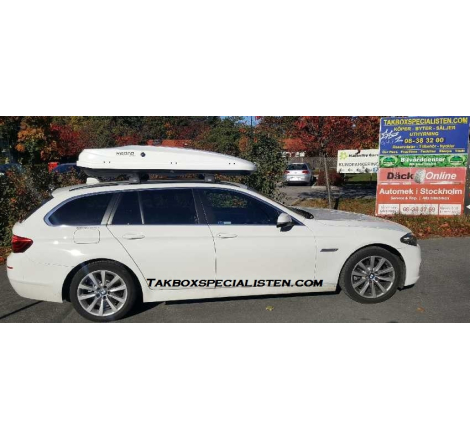 Takbox Hapro Zenith 8.6 på BMW 5 Serie Touring