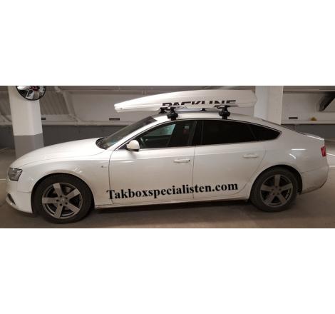 Takbox Packline FX-SUV 2.0 Vit högblank på Audi A5