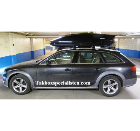 Takbox Thule Motion 900 / XT XXL Svart högblank på Audi A4 Allroad