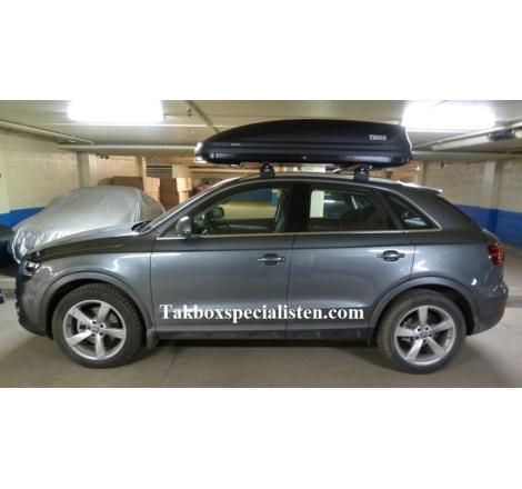 Takbox Thule Pacific 780 / Touring 780 på Audi Q3