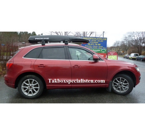Takbox Packline FX-SUV 2.0 Svart högblank på Audi Q5
