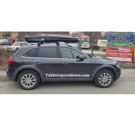 Takbox Thule Flow / Motion XT Alpine Svart högblank på Audi Q5