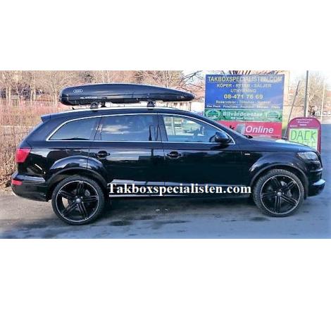 "Takbox Calix 430 ""Audi Quattro Edition"" på Audi Q7"