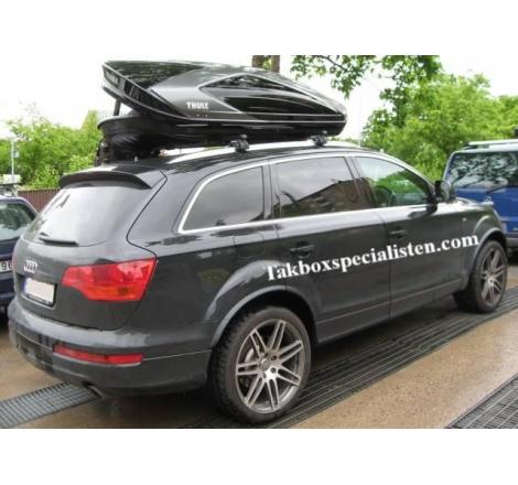 Takbox Thule Excellence XT Svart / Titan på Audi Q7