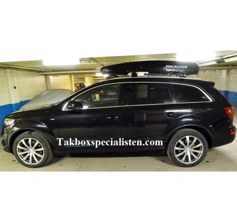 Takbox Packline FX-SUV 2.0 Svart högblank på Audi Q7