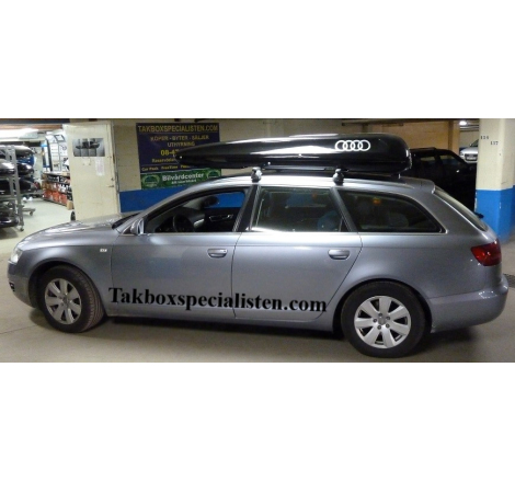"Takbox Packline Family ""Audi Edition"" på Audi A6"