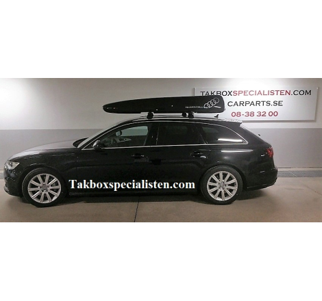 "Takbox Car Pack / Freetime ""Audi Quattro Edition"" på Audi A6 Avant"
