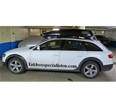 "Takbox Calix 430 / 600 Svart högblank ""Audi Edition på Audi A4 Allroad"