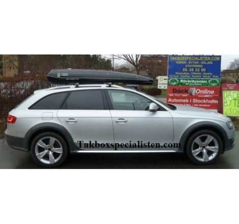 "Takbox Packline F Elegance ""Audi Quattro Edition"" på Audi A4 Allroad"