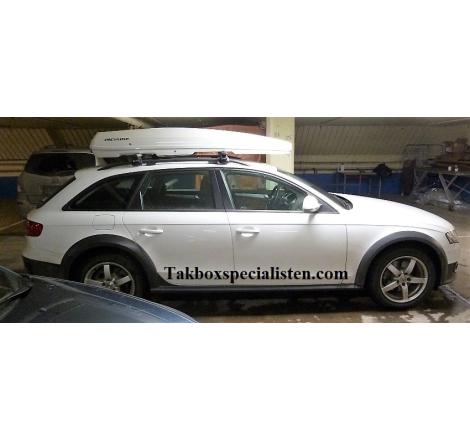 Takbox Packline FX-SUV 2.0 Vit högblank på Audi A4 Allroad