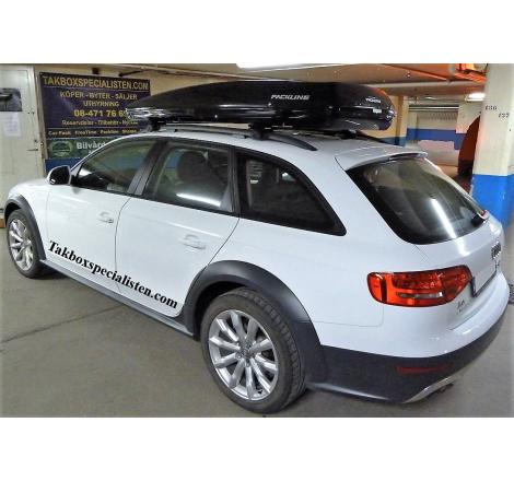 Takbox Packline FX-SUV 2.0 Svart högblank på Audi A4 Allroad