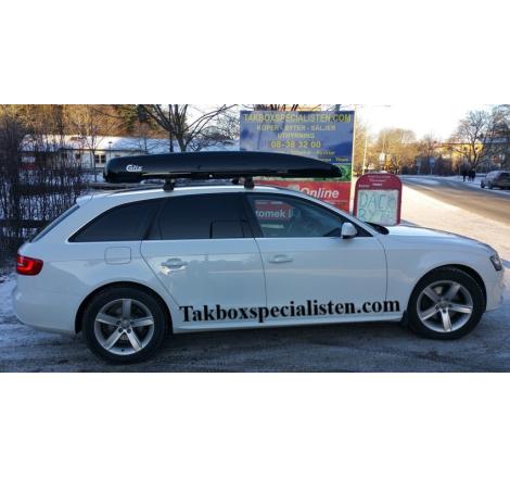 Takbox Calix Nordic Loader Svart högblank på Audi A4 Avant