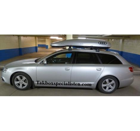 """Takbox Calix 430 / 600 """"Audi Edition"""" på Audi A6 Avant"""