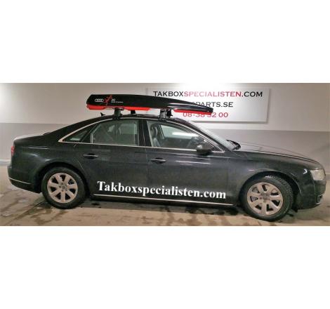 "Takbox Packline FX-SUV 2.0 ""Audi Quattro Edition"" på Audi A6 Sedan"