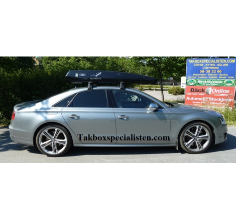 "Takbox Packline F Elegance ""Audi Quattro Edition"" på Audi A6 Sedan"