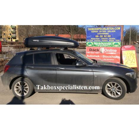 Takbox Hapro Traxer 6.6 Antracit på BMW 1 Serie