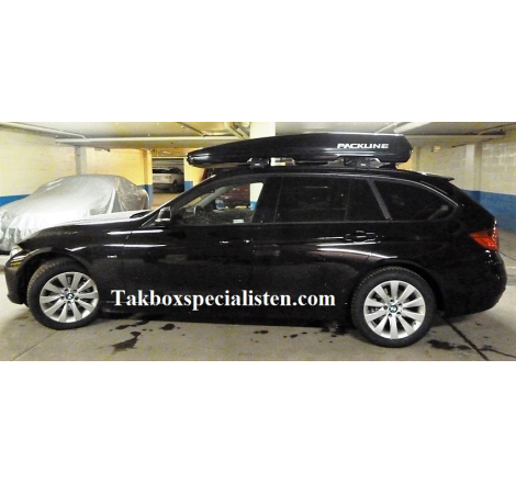 Takbox Packline FX-SUV 2.0 Svart högblank på BMW 3 Serie Touring