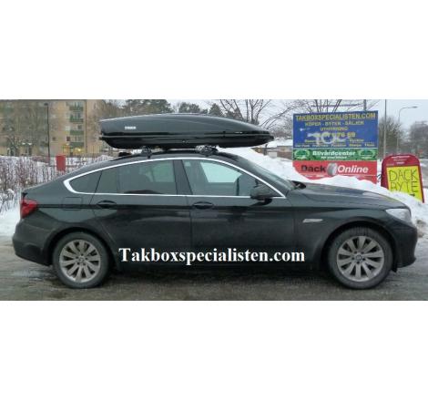 Takbox Thule Motion 900 / XT XXL Svart högblank på BMW 5 Serie GT
