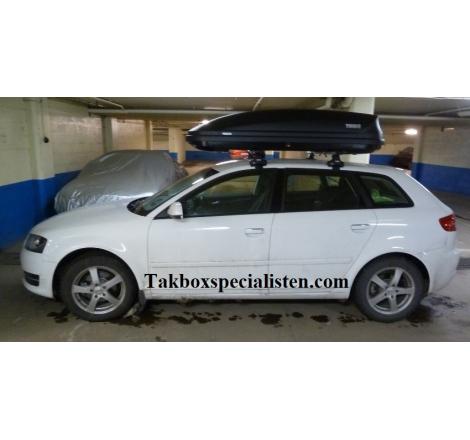 Takbox Thule Pacific 780 / Touring 780 på Audi A3