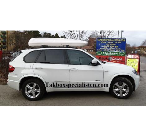 Takbox Packline Family Vit på BMW X5