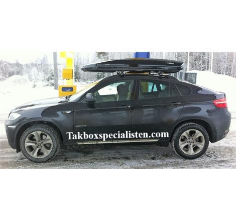Takbox Thule Dynamic L900 Svart högblank på BMW X6