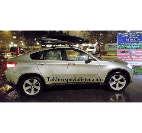 Takbox Thule Excellence XT Svart / Titan på BMW X6