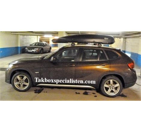Takbox Calix 430/600 Svart matt på BMW X1