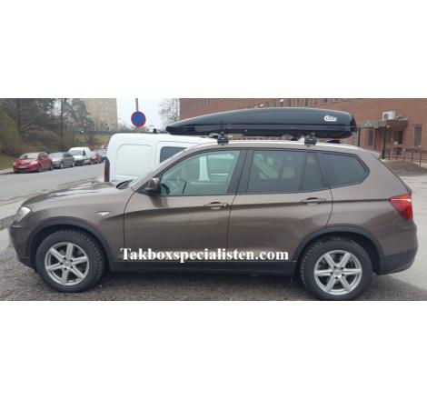 Takbox Calix 430 / 600 Svart högblank på BMW X3