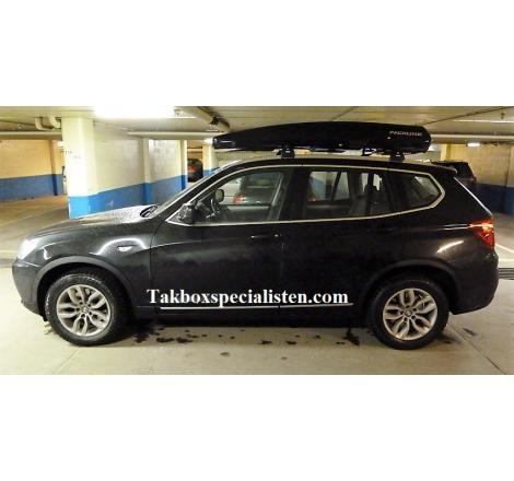 Takbox Packline FX-SUV 2.0 Svart högblank på BMW X3