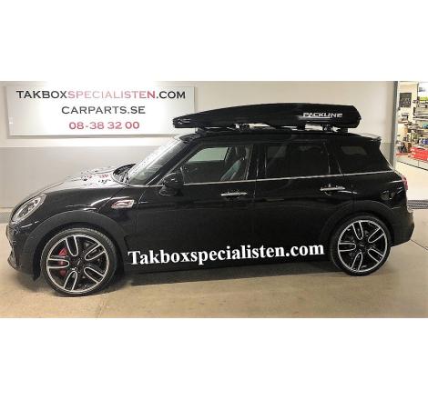 Takbox Packline FX-SUV 2.0 Svart högblank på Mini Cooper