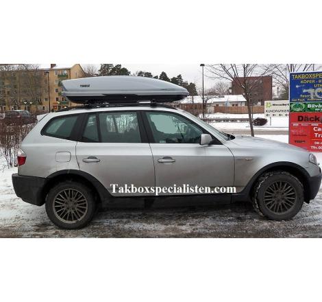 Takbox Thule Motion XT XL Titansilver på BMW X3