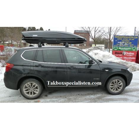 Takbox Thule Motion XT XL Svart högblank på BMW X3