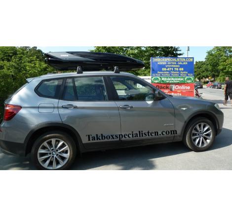 Takbox Thule Excellence XT Svart / Titan på BMW X3