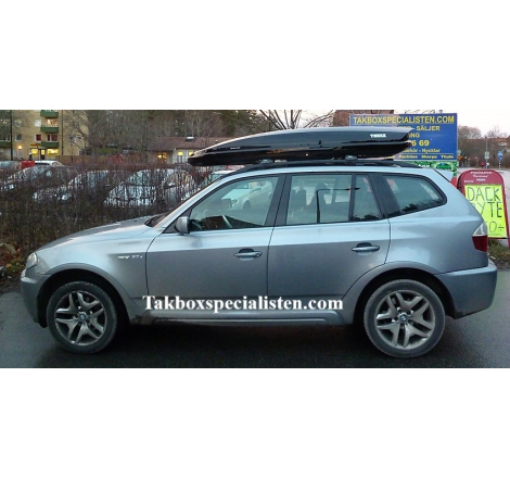 Takbox Thule Dynamic L900 Svart högblank på BMW X5