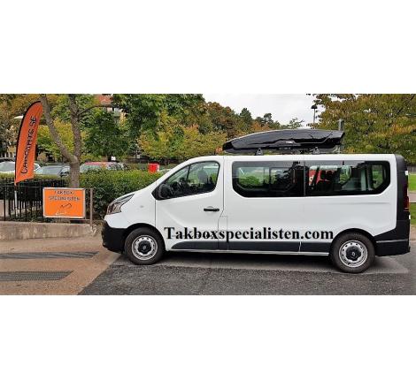 Takbox Thule Motion XT XXL Svart högblank på Renault Trafic