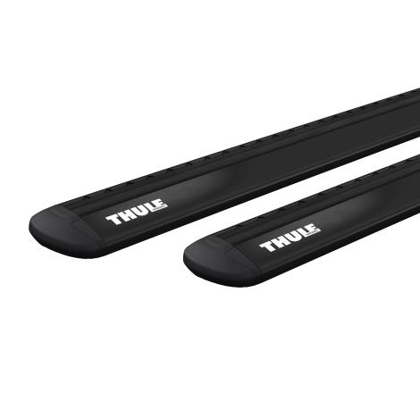 Rörsats Thule WingBar Evo Black 711220. 118 cm 2-pack - Kampanj!