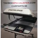 Takbox Packline FX Offroad Vit högblank - 400 Liter
