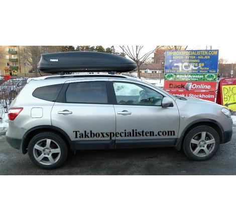 Takbox Thule Pacific 780 / Touring 780 på Nissan Qashqai
