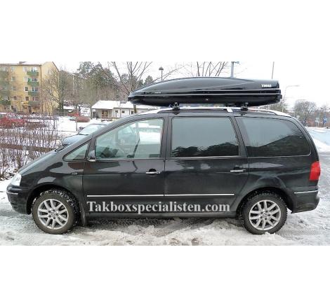 Takbox Thule Atlantis 900 / Motion XT XXL Svart högblank på Ford Galaxy