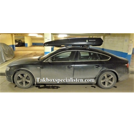 Takbox Packline F Elegance Svart högblank på Audi A5