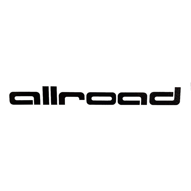 Dekalsats Audi Allroad Svart