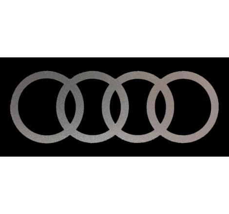 Dekalsats Audi ringar. Mod. mindre