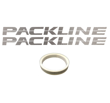Dekalsats Packline + Stripes Silver